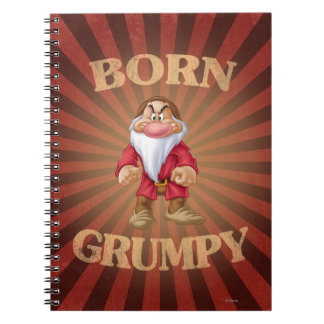 Born Grumpy Note Book