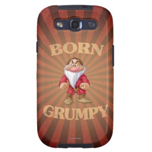 Born Grumpy Samsung Galaxy S3 Cases