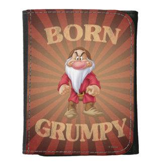 Born Grumpy Trifold Wallet