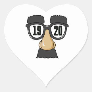 Born in 1920 heart sticker