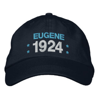 Born in 1924 or Any Year 90th Birthday V05G NAVY Embroidered Baseball Cap