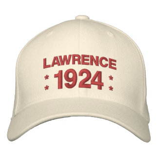 Born in 1924 or Any Year 90th Birthday V5M NATURAL Embroidered Baseball Cap