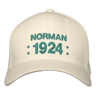 Born in 1924 or Any Year 90th Birthday V5U MARINE Embroidered Baseball Cap