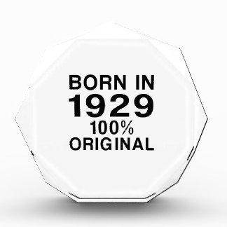 Born in 1929 award