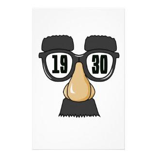 Born in 1930 stationery
