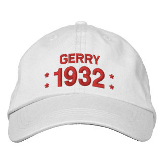 Born in 1932 or Any Year 85th Birthday W03A WHITE Cap