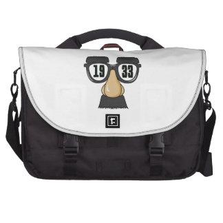 Born in 1933 laptop messenger bag