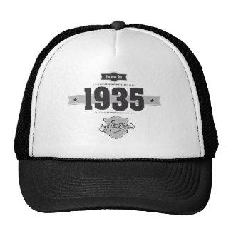 Born in 1935 (Dark&Lightgrey) Trucker Hat