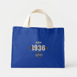 Born in 1936 (Light&Darkgrey) Mini Tote Bag