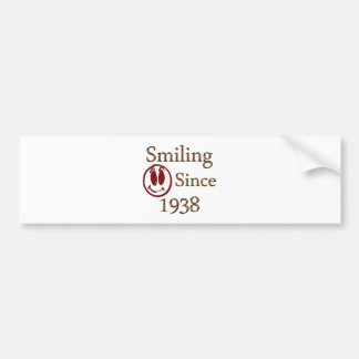 Born in 1938 bumper sticker