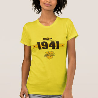 born in 1941 (choco&yellow) T-Shirt