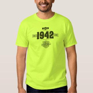 Born in 1942 (Dark&Lightgrey) T Shirt