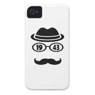 Born In 1943 iPhone 4 Case-Mate Case