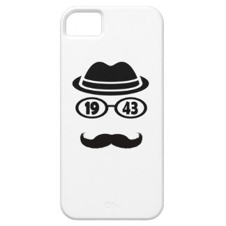 Born In 1943 iPhone 5 Cover