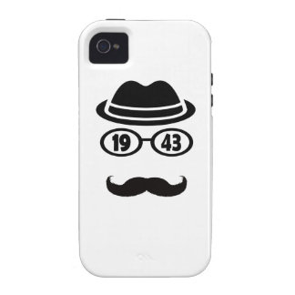 Born In 1943 iPhone 4 Cover