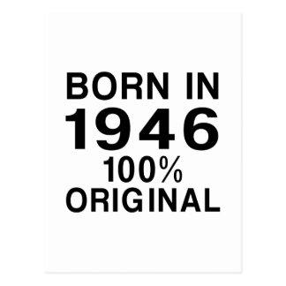 Born in 1946 postcard