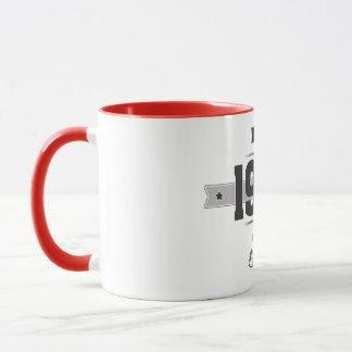 Born in 1952 (Dark&Lightgrey) Mug