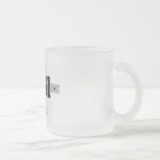 Born in 1961 (Dark&Lightgrey) Frosted Glass Coffee Mug