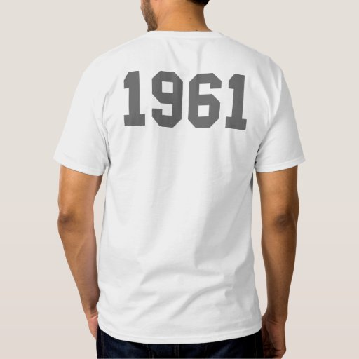 Born in 1961 t-shirts