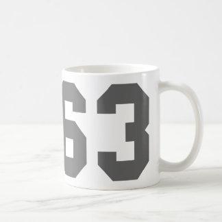 Born in 1963 coffee mug