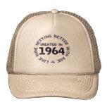 Born in 1964. Good year. Hats