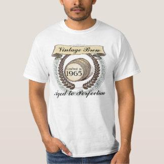 Born in 1965 Vintage Brew, 50th Birthday Gift T-shirt