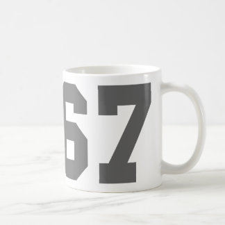Born in 1967 coffee mug