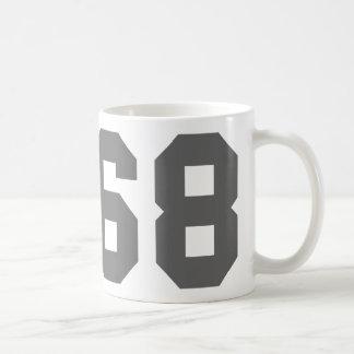 Born in 1968 coffee mug