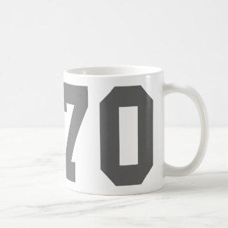 Born in 1970 coffee mug