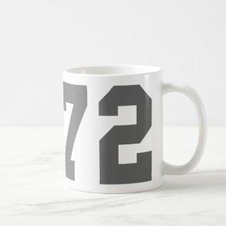 Born in 1972 coffee mug