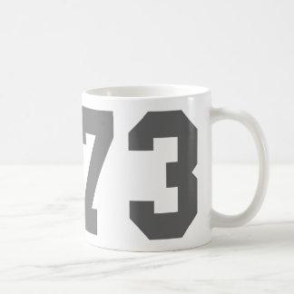 Born in 1973 coffee mug