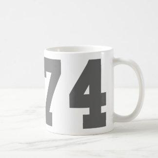 Born in 1974 coffee mug