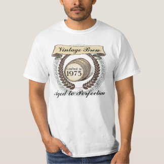 Born in 1975 Vintage Brew, 40th Birthday Gift Shirts
