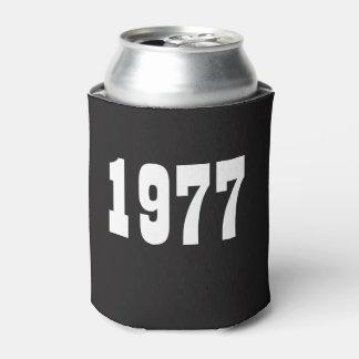Born in 1977 Birthday Can Cooler 40th birthday