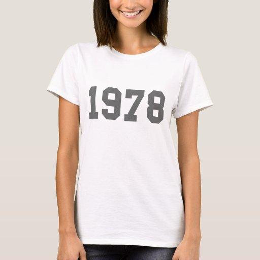 Born in 1978 T-Shirt