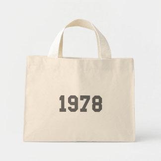 Born in 1978 tote bags