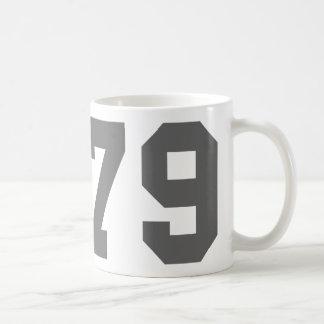 Born in 1979 coffee mug