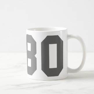 Born in 1980 coffee mugs
