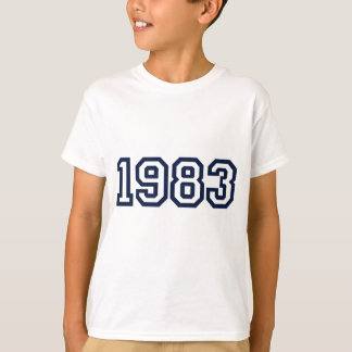 Born in 1983 | 1983 Birth year T-shirt