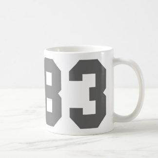 Born in 1983 coffee mug