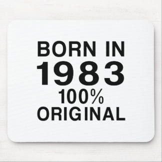 Born in 1983 mouse pad