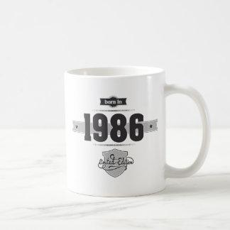 Born in 1986 (Dark&Lightgrey) Coffee Mug