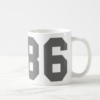 Born in 1986 coffee mugs