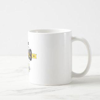 born in 1989 (choco&yellow) coffee mug
