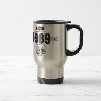 Born in 1989 (Dark&Lightgrey) Travel Mug