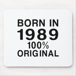 Born In 1989 Mouse Pad