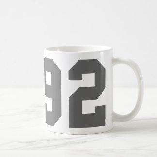 Born in 1992 coffee mug