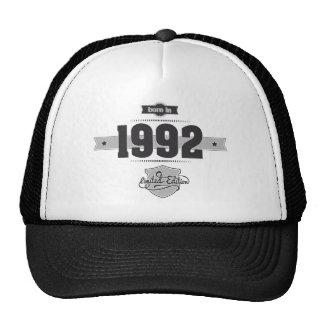 Born in 1992 (Dark&Lightgrey) Trucker Hat