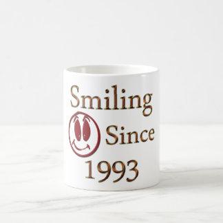 Born in 1993 coffee mug