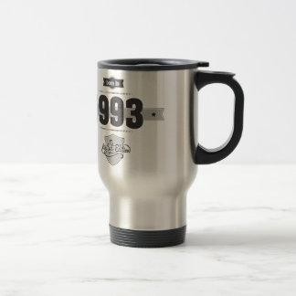 Born in 1993 (Dark&Lightgrey) Travel Mug